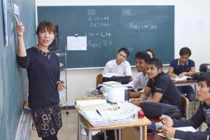 日本語学校風景