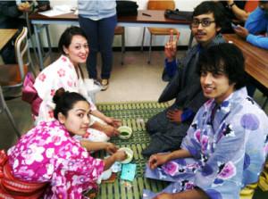 日本語学校内風景